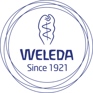 Fair Beauty schoonheidssalon Weleda logo