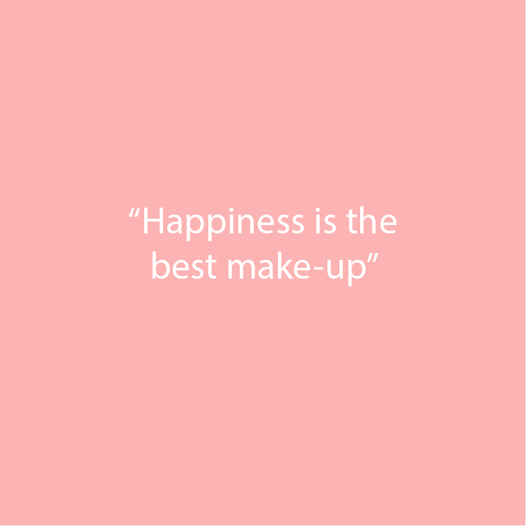 Fair Beauty happiness is the best make-up