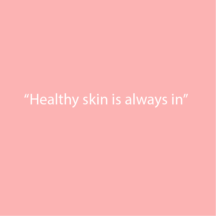 Fair Beauty healthy skin is always in